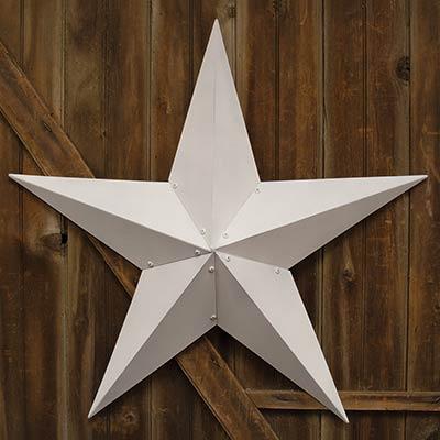 White Barn Star, 48 inch