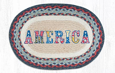 America Braided Placemat