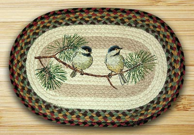 Chickadee Braided Placemat