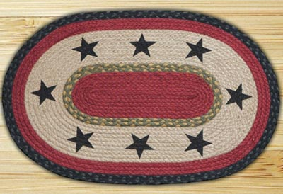 Stars Braided Jute Placemat