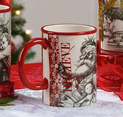 Believe Nostalgic Christmas Mug