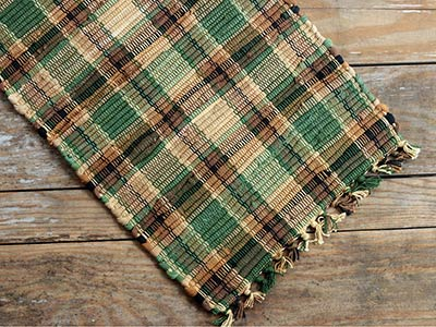Scotch Pine Chindi Placemat