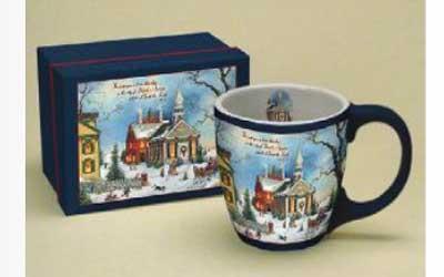 Christmas at Stone Chapel Mug