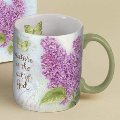 Lilac Boxed Mug