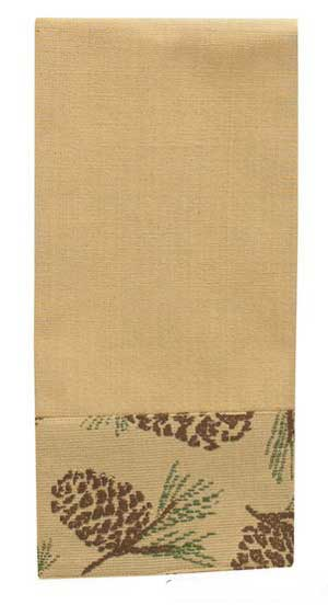 Pine Bluff Border Dishtowel