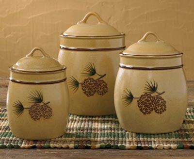 Pine Bluff Canisters (Set of 3)