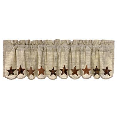 Abilene Star Valance - 60 inch