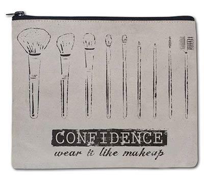 Confidence Travel Make Up Bag