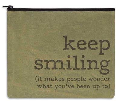 Keep Smiling Travel Bag