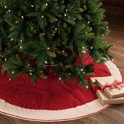 Chenille Christmas Tree Skirt 60