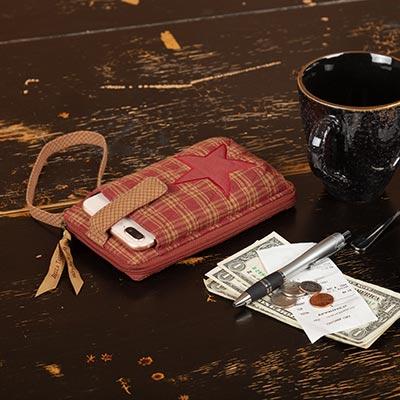 Ninepatch Star Modern Wristlet Wallet