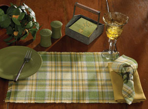 Lemongrass Tablecloth, 54 x 54