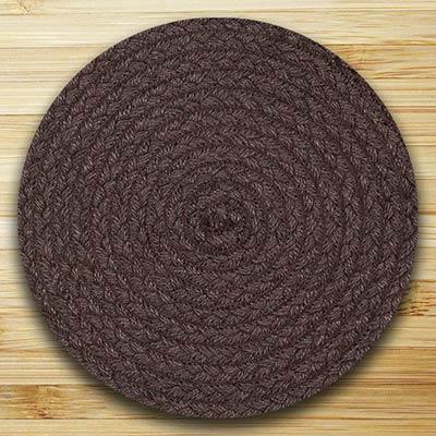 Fiesta Brown Braided Tablemat (10 inch)
