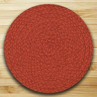 Fiesta Paprika Braided Tablemat (10 inch)
