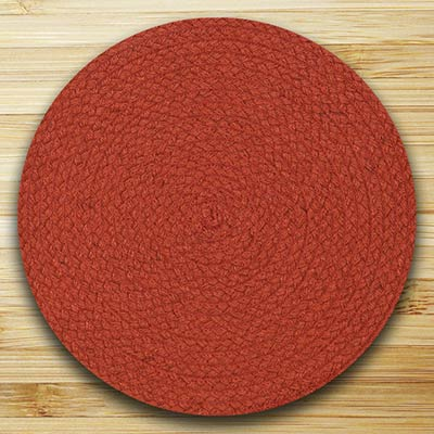 Fiesta Paprika Braided Placemat