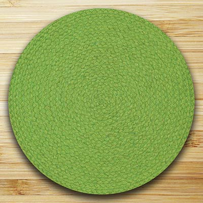 Fiesta Lime Braided Placemat
