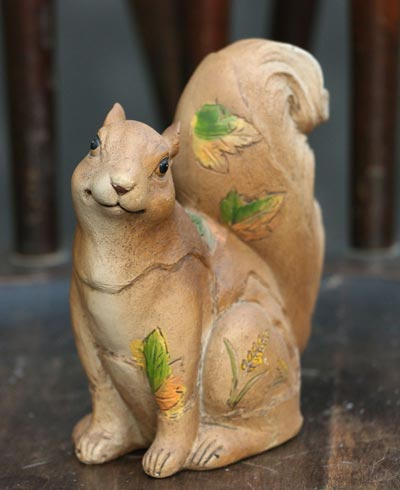 Squirrel Figurine