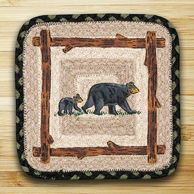 Mama and Baby Bear Trivet (10 inch)