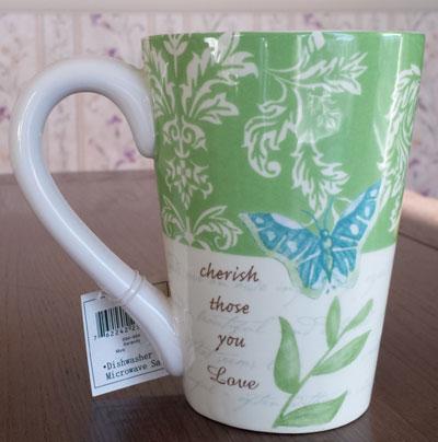 Serenity Butterfly Mug