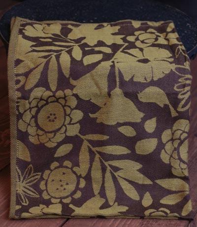 Fall Flora Jacquard Towel