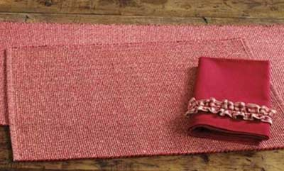 Heathered Ribbed Placemat