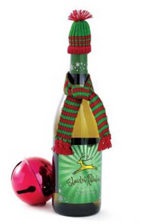 Christmas Holiday Bottle Hat