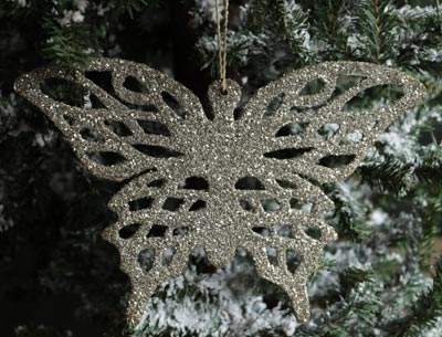 Filigree Butterfly Ornament