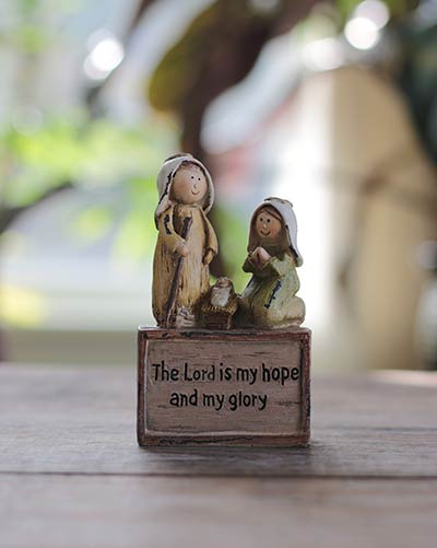 Hope and Glory Nativity Miniature