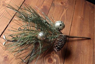 Holiday Pine Branch
