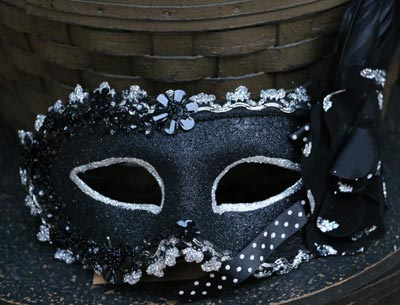 Masquerade Mask - Black
