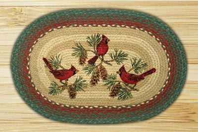 Cardinals Braided Jute Rug