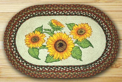 Sunflower Jute Rug