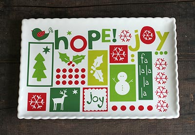 Hope, Peace, Joy Platter