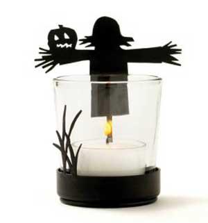 Scarecrow Votive Holder