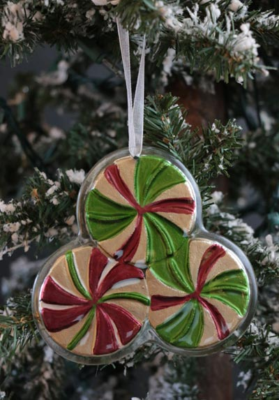 Home Christmas Ornament - Peppermints