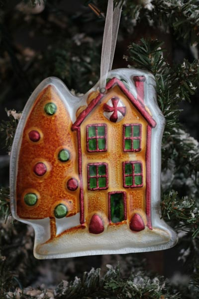 Home Christmas Ornament - Gingerbread House