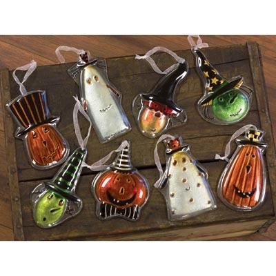 Halloween Glass Ornament