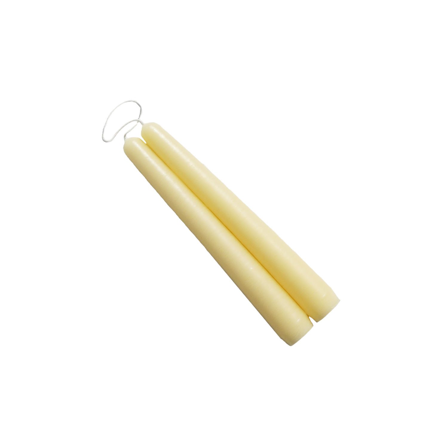6 inch Parchment Mole Hollow Taper Candles (Set of 2)