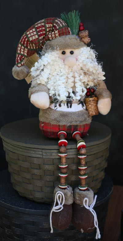 Alpine Santa with Button Legs