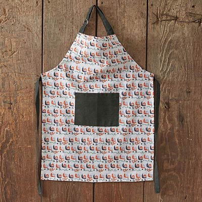 Snakes and Snails Children's Apron