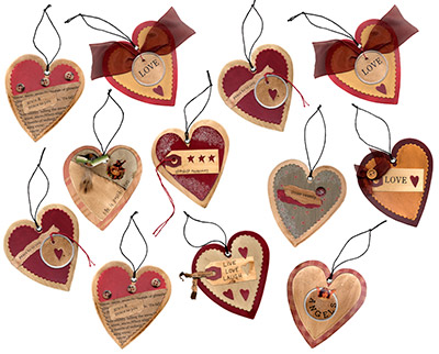 Heart Tag Ornament