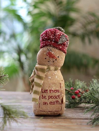 Peace on Earth Snowman