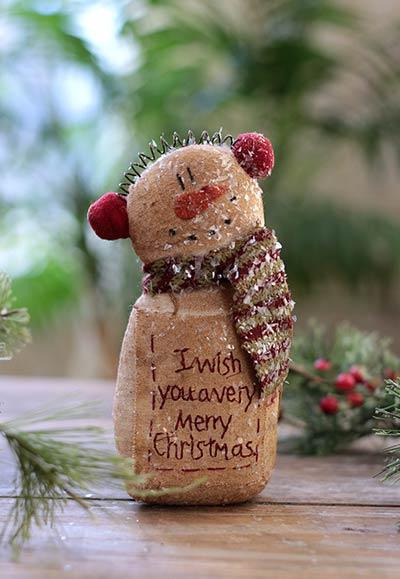 Very Merry Christmas Snowman
