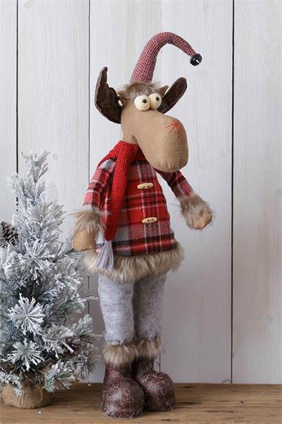 Snow Lodge Standing Moose