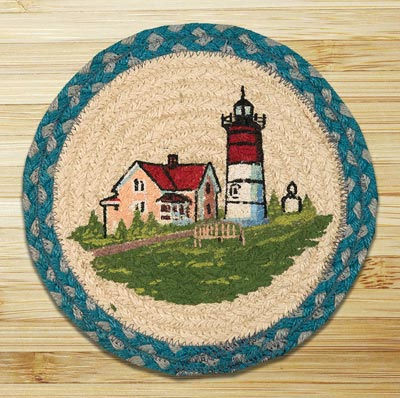 Portland Braided Tablemat - Round (10 inch)