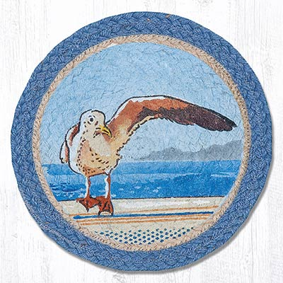 Who Needs a Hug Braided Tablemat - Round (10 inch)