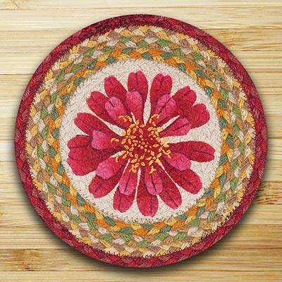 Blossom Braided Tablemat - Round (10 inch)