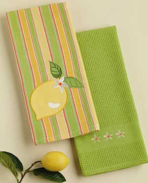 Lemon Kitchen Dishtowel