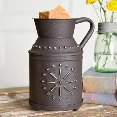 milk jug wax warmer by ctw home collection the weed patch