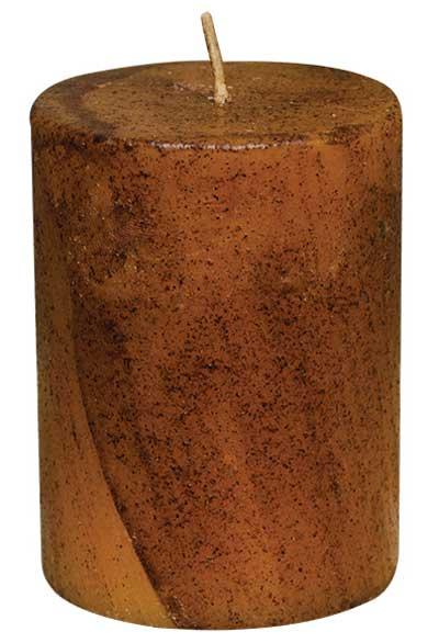 Grubby Star Pillar Candles 2 sizes